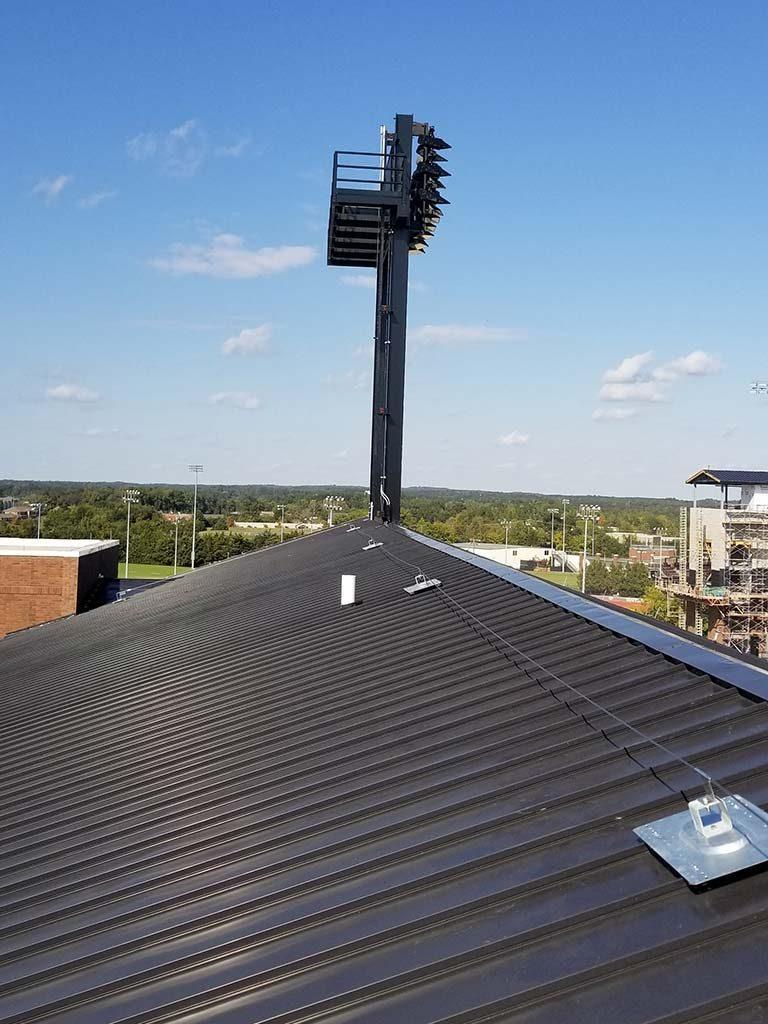 Roof Lifelines Sesco Safety