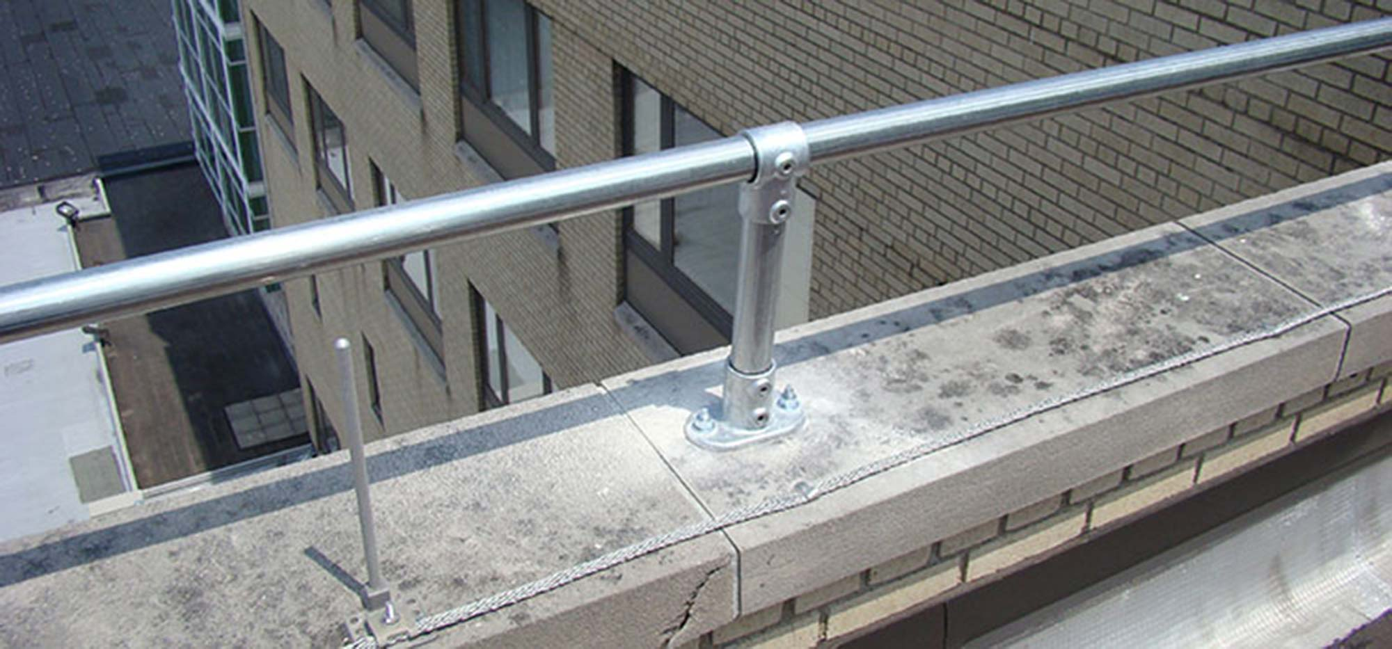 Parapet Railing - Sesco Safety
